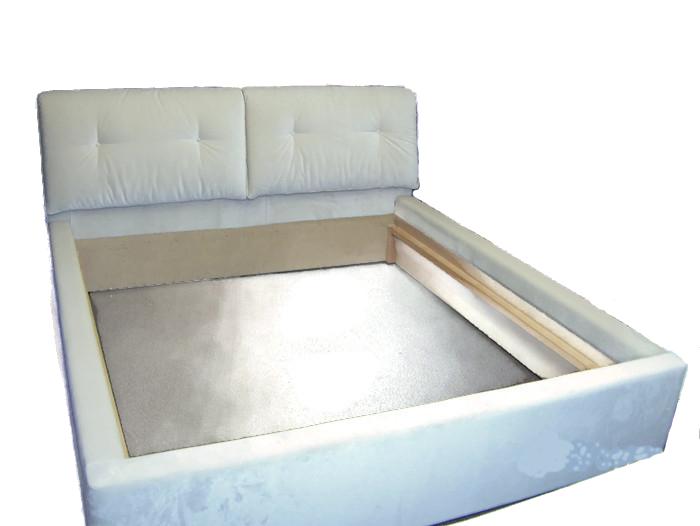łóżko biale